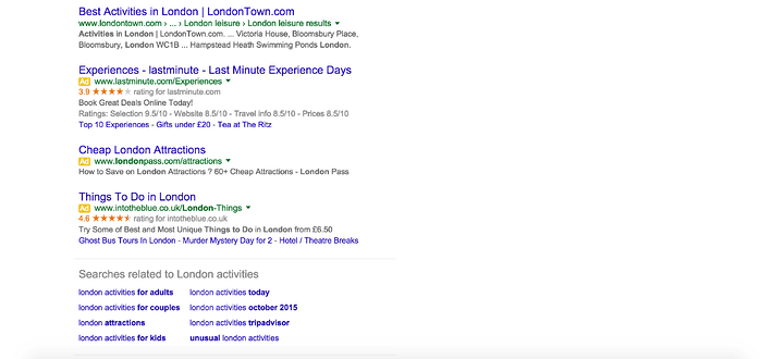 Google Search Ads New Layout - Bottom