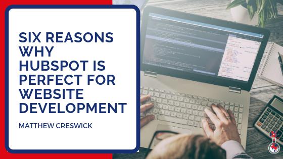 HubSpot website development blog image