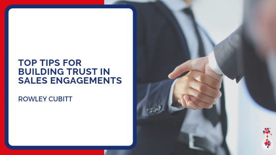 Top tips for building trust in sales engagements blog image