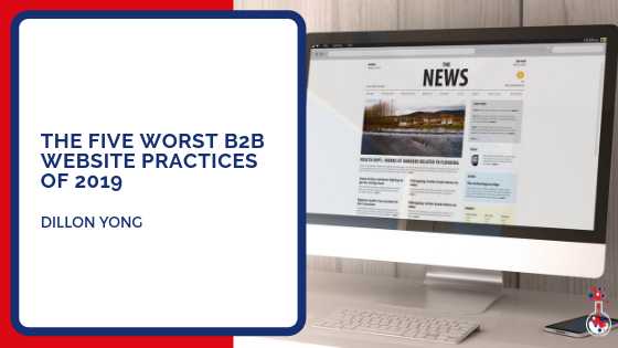 Worst B2B website practices 2019