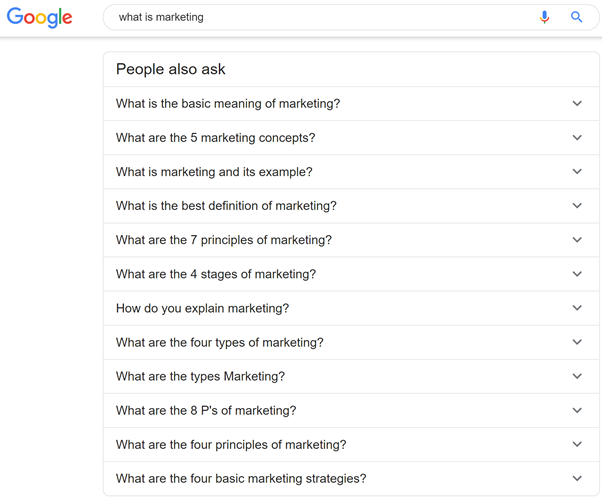 people also ask what is marketing more questions